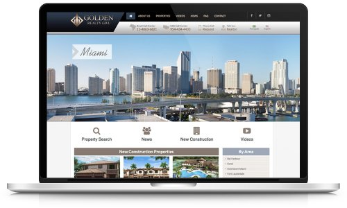 Golden Realty - Website Design