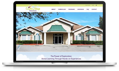 Country Village Pre-School - Website Design
